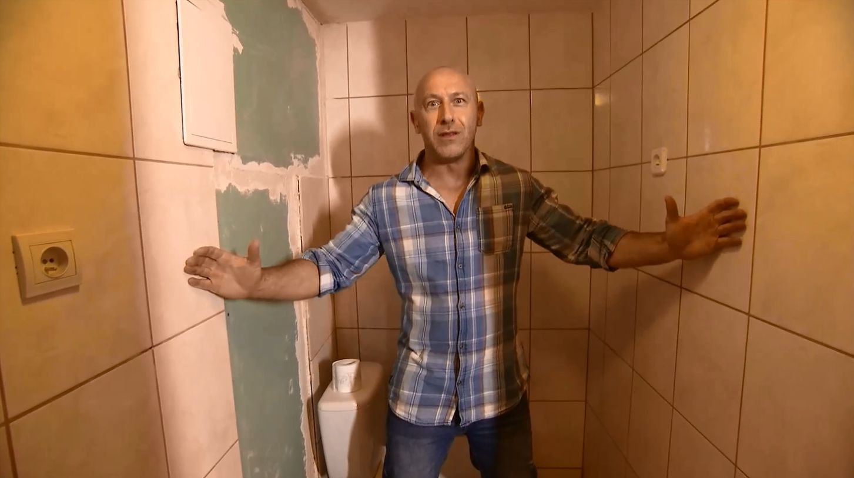 """""""Zgłoś remont"""": pomysł na pralnię... pod łazienką"""